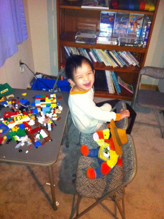Bethy, meet Legos!